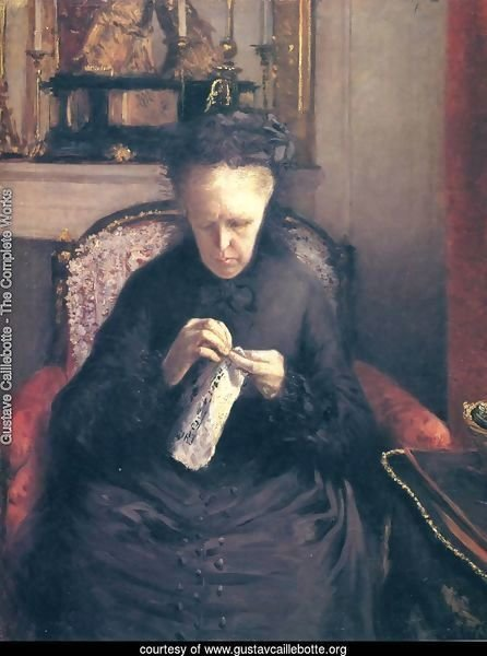 Portait of Madame Martial Caillebote (the artist's mother)
