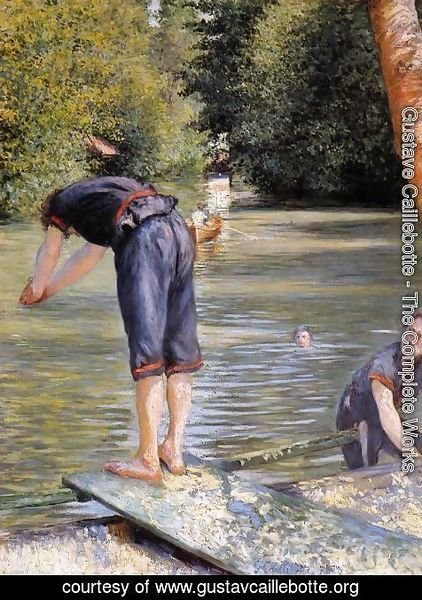 Gustave Caillebotte - Bathers