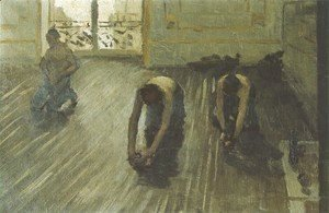 Gustave Caillebotte - The Floor Scrapers (study) I