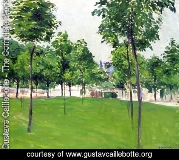 Gustave Caillebotte - Promenade at Argenteuil