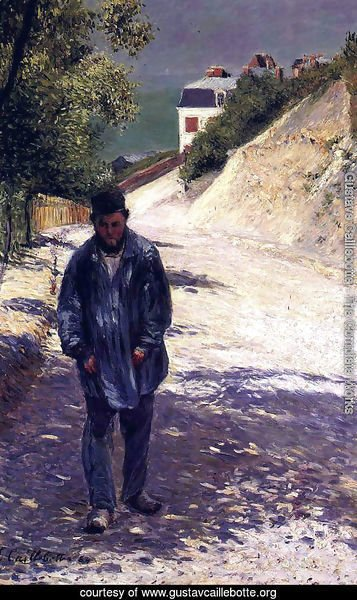 Claude Monet Walking, 1884