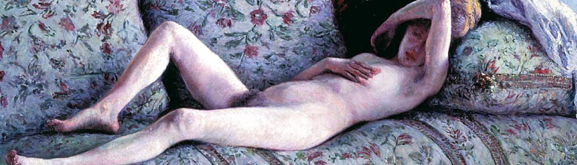 Gustave Caillebotte - Nude woman