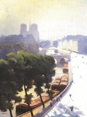 Gustave Caillebotte - View of Paris