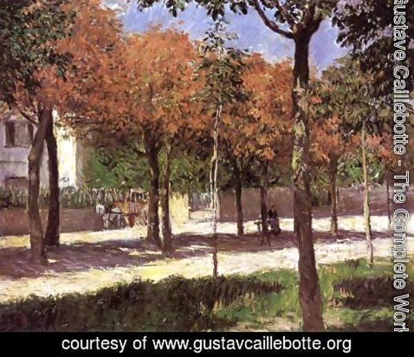 Gustave Caillebotte - Square at Argenteuil