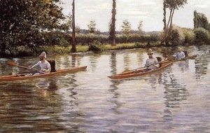 Gustave Caillebotte - The Canoe
