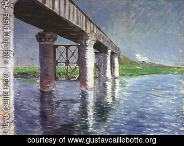 Gustave Caillebotte - The Bridge at Argenteuil