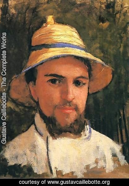 Gustave Caillebotte - Self-Portrait with Pith Helmet