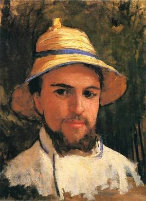 Self-Portrait with Pith Helmet