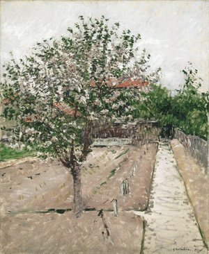 Gustave Caillebotte - Apple Tree in Blossom
