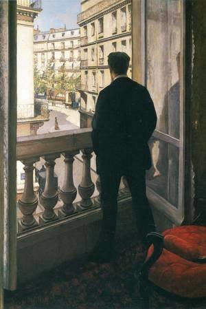 A Young Man At His Window