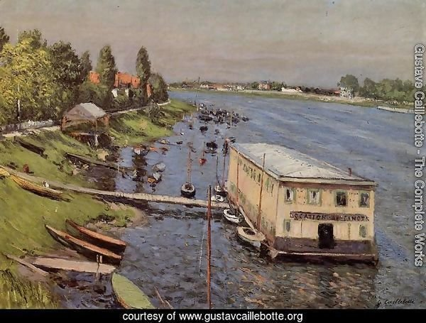 Boathouse In Argenteuil