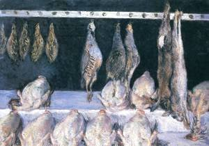 Gustave Caillebotte - Display Of Chickens And Game Birds