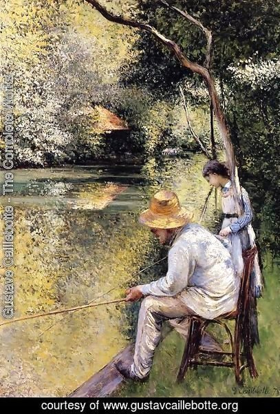 Gustave Caillebotte - Fishing