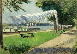 Gustave Caillebotte - Laundry Drying