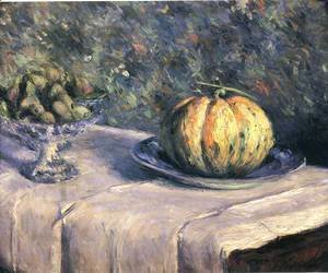 Gustave Caillebotte - Melon And Bowl Of Figs