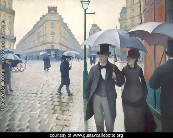 Paris Street- Rainy Weather 1877
