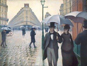Gustave Caillebotte - Paris Street- Rainy Weather 1877