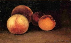 Gustave Caillebotte - Peaches  Nectarines And Apricots