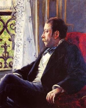 Gustave Caillebotte - Portrait Of A Man2