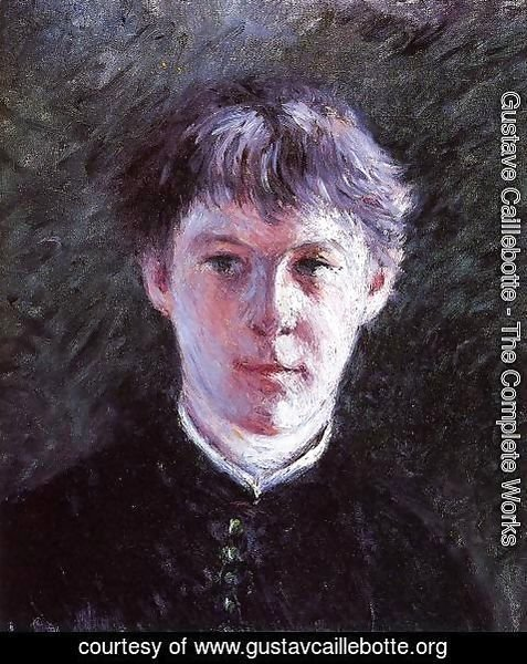Gustave Caillebotte - Portrait Of A Schoolboy