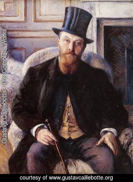 Gustave Caillebotte - Portrait Of Jules Dubois