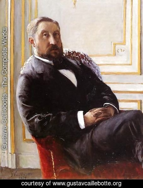 Gustave Caillebotte - Portrait Of Jules Richemont