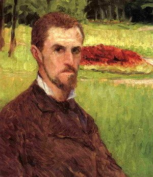 Gustave Caillebotte - Self Portrait In The Park At Yerres