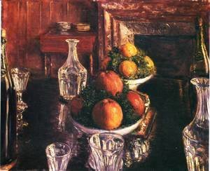 Gustave Caillebotte - Still Life