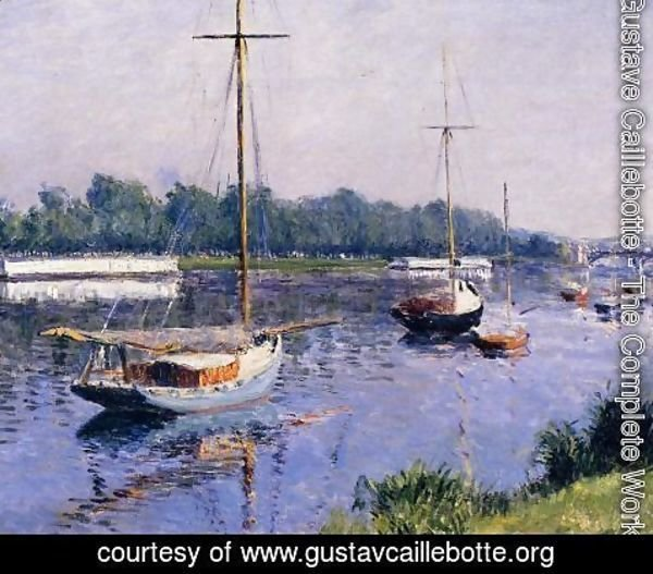 Gustave Caillebotte - The Basin At Argenteuil