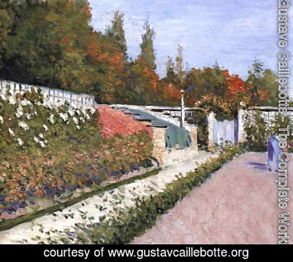Gustave Caillebotte - The Gardener