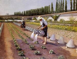 Gustave Caillebotte - The Gardeners