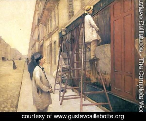 Gustave Caillebotte - The House Painters