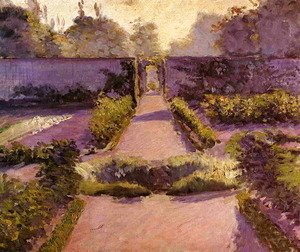 Gustave Caillebotte - The Kitchen Garden  Yerres2