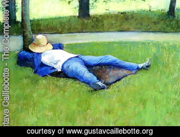 Gustave Caillebotte - The Nap