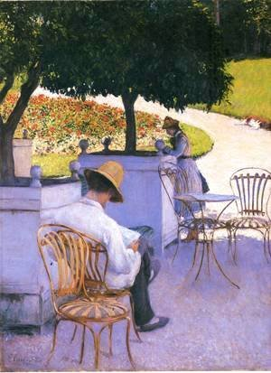 Gustave Caillebotte - The Orange Trees