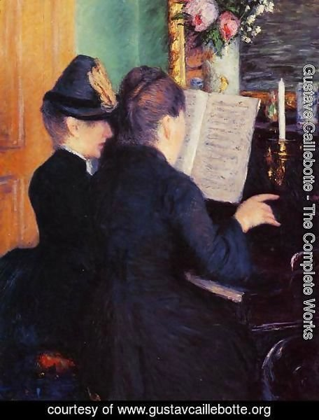 Gustave Caillebotte - The Piano Lesson