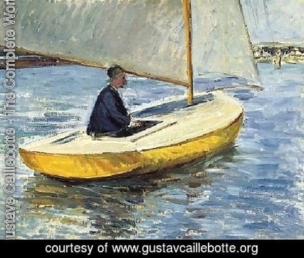Gustave Caillebotte - The Yellow Boat
