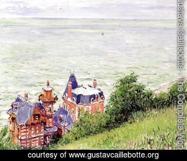 Gustave Caillebotte - Villas At Trouville