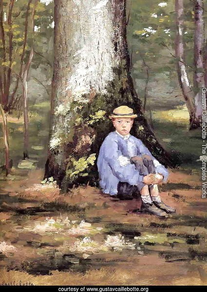 Yerres  Camille Daurelle Under An Oak Tree