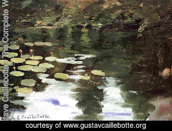 Gustave Caillebotte - Yerres  On The Pond  Water Lilies
