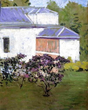 Gustave Caillebotte - Yerres  Part Of The South Facade Of The Casin