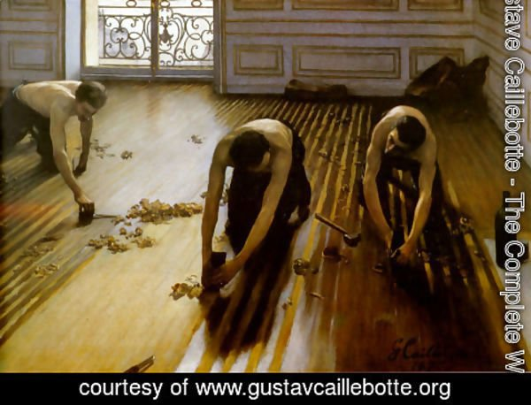 Gustave Caillebotte - The Floor Scrapers 1875